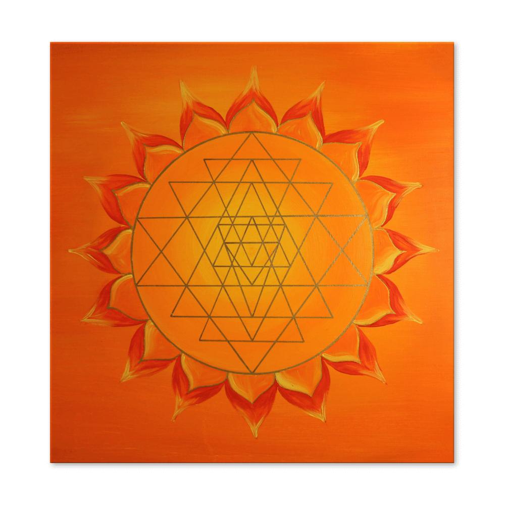 Engelkarte Yoga Yantra